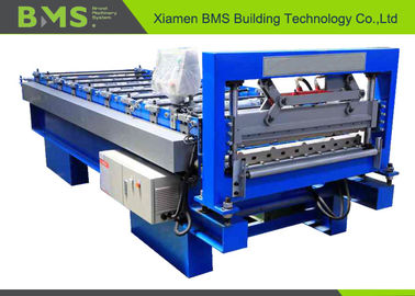 China PPGI Partition Wall Panel Roll Machine With PLC And Touch Screen Control System factory