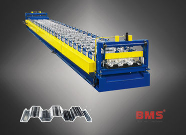 China Sheets Floor Deck Roll Forming Machine Use ASTM 615A G60 Galvanized Steel factory