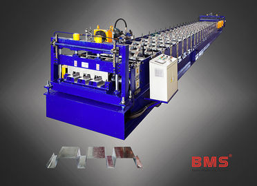 China Steel Floor Deck Roll Forming Machine , Roll Forming Equipment With Imported Brand factory