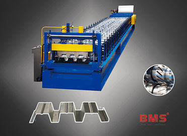 Easy Operate Automatic Floor Decking Forming Machine High Precision Fully Automatic