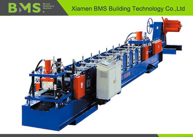 China Customize Size Change Cold Rolled Sheet C Purlin Forming Machine With Hydraulic Uncoiler factory