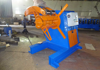 Gear Box And Gimbal Driving Guardrail Roll Forming Machine PLC Control 1