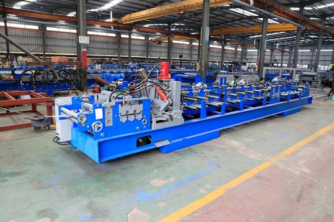 Easy Operate Metal Stud And Track Roll Forming Machine For Multi Profiles 30-40m/Min 10