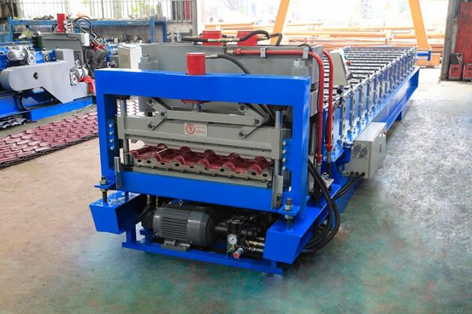 Highly Efficient Standing Seam Metal Roof Machine , Wall Cladding Forming Machine 3