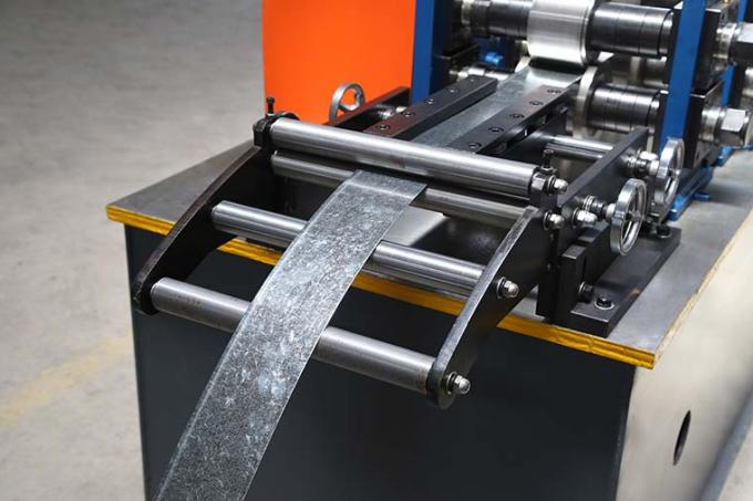 Easy Operate Metal Stud And Track Roll Forming Machine For Multi Profiles 30-40m/Min 0