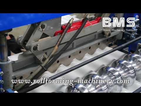 21steps Forming Station Output 12-15meters Per Minute Corrugated Roof Machine